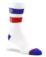 Ponožky FLOW 100% (bílá)