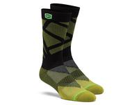 Ponožky RIFT 100% (černá/žlutá)