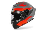 Přilba GP 550S VECTOR, AIROH (černá/oranžová/stříbrná-matná) 2021