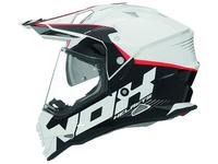 Přilba N312 Crow, NOX (bílá)