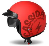 Přilba Oxygen Gear, CASSIDA (červená matná/černá)