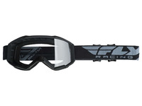Brýle FOCUS 2019, FLY RACING dětské (černé, čiré plexi bez pinů)