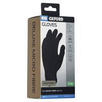 Vložky do rukavic syntetické vlákno, OXFORD (černé)