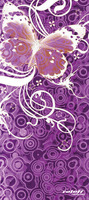Nákrčník víceúčelový Butterfly, ROLEFF (fialový)