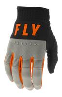 Rukavice F-16 2020, FLY RACING (šedá/černá/oranžová)