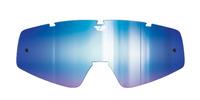 Plexi pro brýle Zone/Focus Youth, FLY RACING dětské (zrcadlové modré)