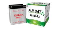 Baterie 12V, YB14L-B2, 14,7Ah, 165A, konvenční 134x89x166 FULBAT(vč. balení elektrolytu)