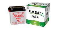Baterie 12V, YB3L-A, 3,2Ah, 25A, konvenční 98x56x110 FULBAT (vč. balení elektrolytu)