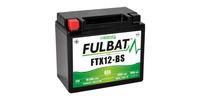 Baterie 12V, YTX12-BS GEL, 10Ah, 180A, bezúdržbová GEL technologie 150x87x130 FULBAT (aktivovaná ve výrobě)