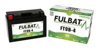 Baterie 12V, YT9B-BS, 8Ah, 115A, bezúdržbová MF AGM 150x70x105, FULBAT (vč. balení elektrolytu)