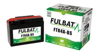 Baterie 12V, YTR4A-BS, 2,4Ah, 35A, bezúdržbová MF AGM 114x49x86, FULBAT (vč. balení elektrolytu)