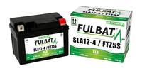 Baterie 12V, YTZ5S, 4Ah, 70A, bezúdržbová MF AGM 113x70x85, FULBAT (aktivovaná ve výrobě)
