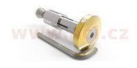 Závaží řídítek Bar Ends 2 s konusem pro vnitřní průměr 13 a 18 mm (vnější 22 a 28,6 mm), OXFORD (zlaté, pár)