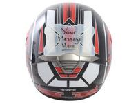 Protektor laku přilby Helmet Bumper Message, OXFORD (možnost napsání vlastního textu)