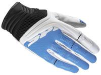 Rukavice MEGA-X, SPIDI, dámské (bílá/modrá)