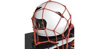 Pružná zavazadlová síť pro motocykly, OXFORD (30x30 cm, červená)