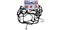 Pružná zavazadlová síť XL pro motocykly, OXFORD (38 x38 cm, černá)