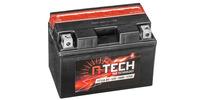 Baterie 12V, YT12A-BS, 10Ah, 175A, bezúdržbová MF AGM 150x87x105, A-TECH (vč. balení elektrolytu)